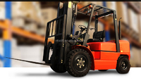 3tons hangzhou forklift with block tyre