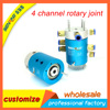 4 Channel Pnuematic Amp Hydraulic Rotary