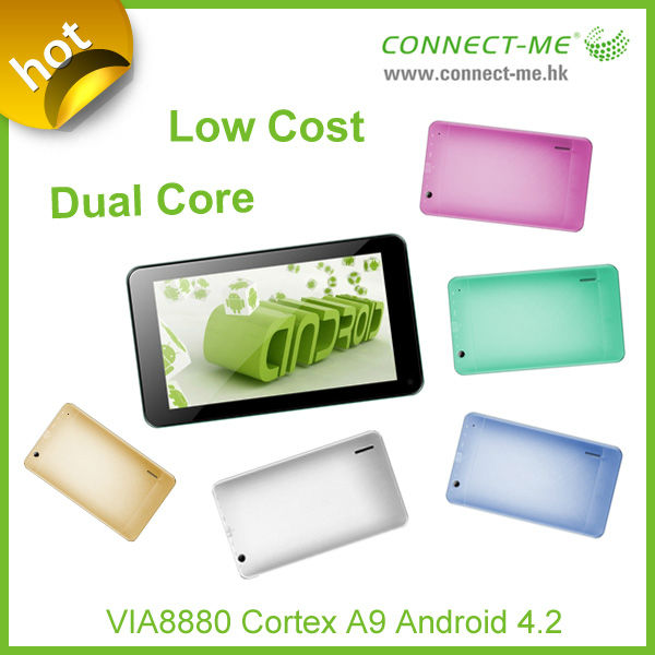 tablet pc 7 inch android 4.2 RAM 512MB,Flash 4G,Cortex A9,dual core Instead of Q88