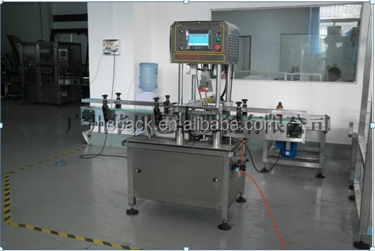 China supplier automatic rotary filling and capping machine (servo-type )