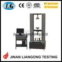 universal testing machine usage artificial board/ man-made panel inside combinative strength test/static bending strength test