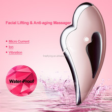 New products 2016 Microcurrent professional Facial Massager Dark Circles Beauty Equipment