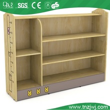 classroom use teaching tools irregular girds wooden bookshelf office file shelf