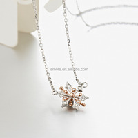 Thailand Gemstones Anchor Flower Pendant Meaning Music Necklaces