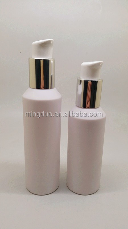 120ml&160ml Cylindrical PET lotion bottle