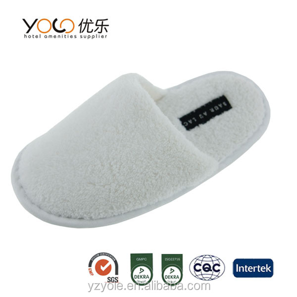 yangzhou hotel disposable items spa shoes/slippers