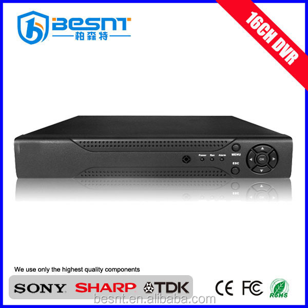 Home security Professional 16CH dvr h264 for sale with mobile monitoring and send email BS-T16L