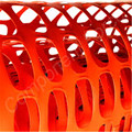 Plastic Orange Construction Safety Barricade Netting
