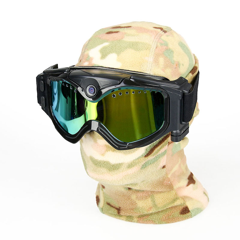 HAIKE CL37-0026 720P Camera Skiing or moto Goggles ( Lens optional) photochromic polarized ski goggles