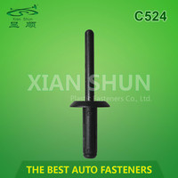Automobile Blind Rivet / Auto Plastic Fastener / Automotive Retainer Rivet