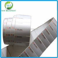 Made in china paper labels, adhesive company name address stickers