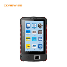 4G rugged waterproof IP65 7 inch Android tablet with fingerprint sensor,HF RFID reader/writer,barcode scanner
