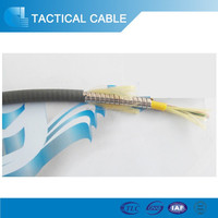 China oem available 1core - 288 core tactical fiber optic cable