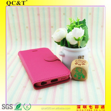 New fashion TPU stitching leather case For Iphone 5C