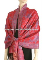 Red Shawls with embroidery