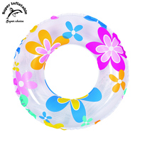 Fashion Summer Swimming Ring Inflatable Flower Pool Float Tube