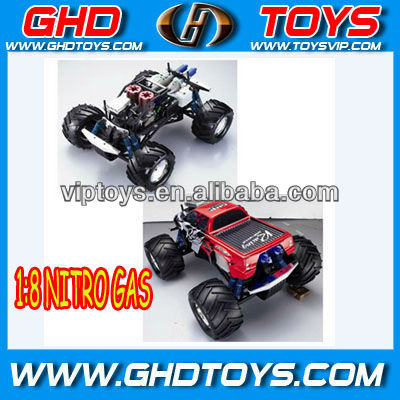 hot:High quality 1:8 NITRO GAS THREE SPEED CAR RC TRUCK