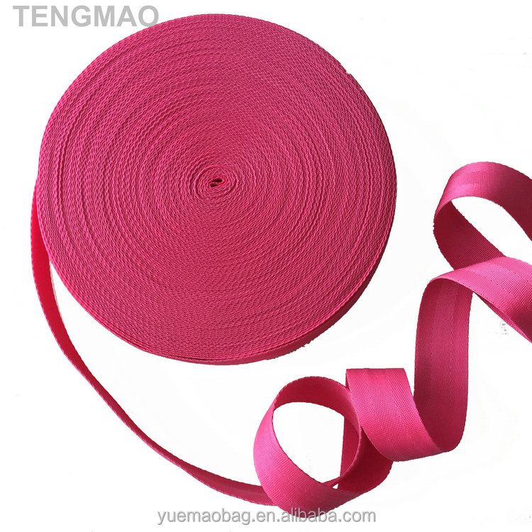 "900D 1.5"" PINK PP Webbing for Bags 72F"