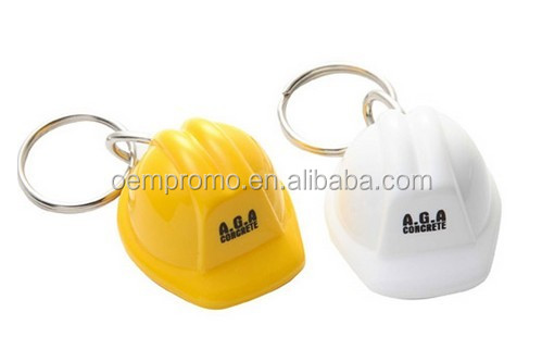 Promotional Safety Helmet Keychain With OEM Logo