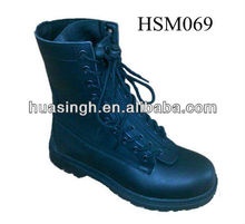 DH,military Air Force issued front zipper quick response flight boots for pilot