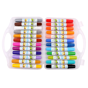 24pcs/36pcs Non-toxic Washable Silky Crayon Painting Stick Easy Clean Lipstick twistable crayons