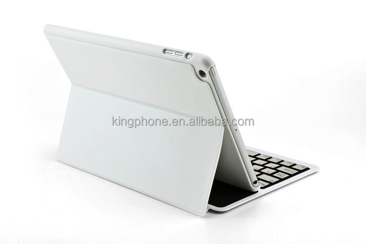 For ipad 5 Ultra-thin Bluetooth keyboard flip leather case