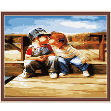 MG139 glossy canvas The best oil painting in China