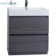 Black Sable Contemporary bathroom corner cabinet
