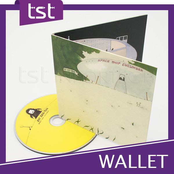 Taiwan High Quality Customized CD Wallet Printing