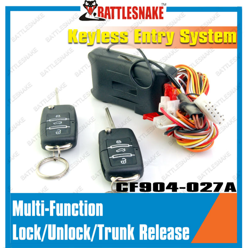 Car window closer Car alarm system /Car Remote Central Lock Locking Keyless Entry System with Remote Controllers