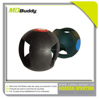 China Product Handle Fitness Equipment medicine Ball