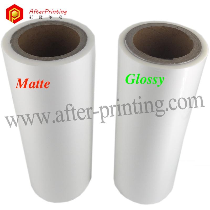 Película da Laminação fosca/Térmica de BOPP/Película Da Laminação de Papel ou de Plástico Seco