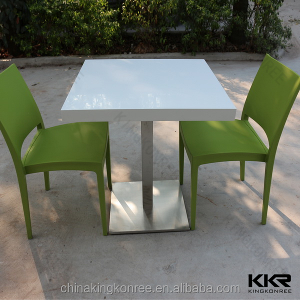 restaurant solid surface coffee house tables and chairs