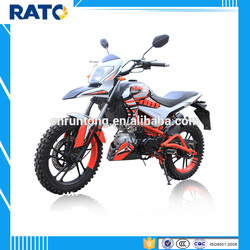 125cc Red and white 4-stroke mini racing motorcycle
