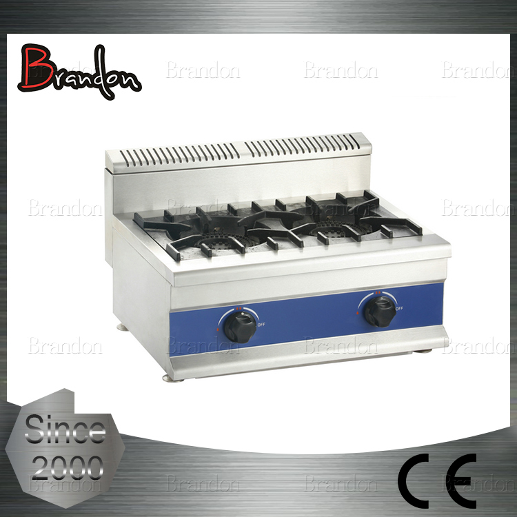 Brandon counter top restaurant equipment gas stove