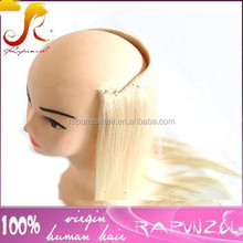 613 blonde halo hair extension flip-in silky straight human hair extensions blonde