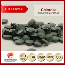 Organic Prevent High Blood Pressure Chlorella Vulgaris Tablets