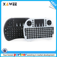 Mini Air Mouse bluetooth wireless keyboard 2.4G backlit wireless keyboard i8 pro for smart tv box
