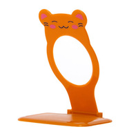 Portable foldable mobile phone stand, mobile phone wall holder, mobile phone charging holder with cartoon characters