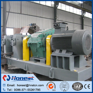 Scrap tyre crusher machine / automatic waste tyre recycling machine plant