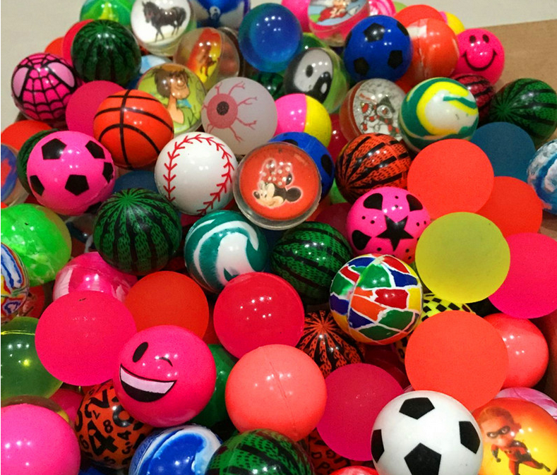 45mm 49mm Cheap Rubber High Bouncy toys <strong>Balls</strong> for vending machine