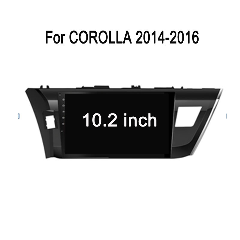 Android Car PC For Toyota Corolla Android Car DVD
