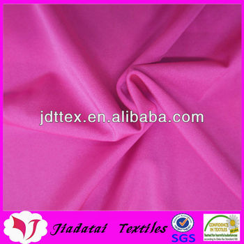 Shiny nylon spandex warp knit fabric