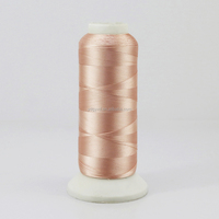 100% rayon multi color embroidery thread 450D 120D/2