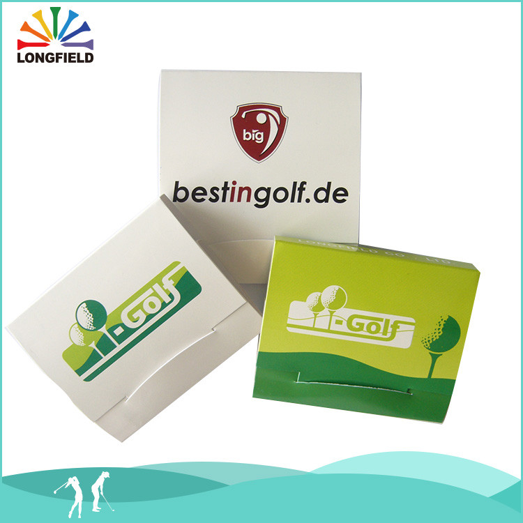 matchbook packings pla biodegradable golf tee