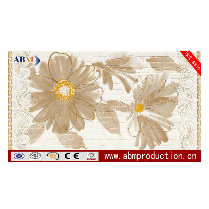 300x600mm textured white glossy ceramic wall tile, ABM brand, good quality, cheap price
