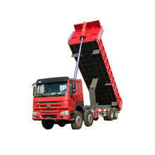 China Heavy Duty 8*4 Dumper Dump Tipping Truck With 336Hp Engine