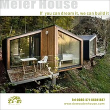 New design five star hotel wooden house