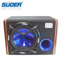 Suoer Factory cheap car woofer 10 inch speaker subwoofer 12v car bass box
