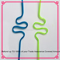 hot sale plastic artistic crazy bar drinking straws